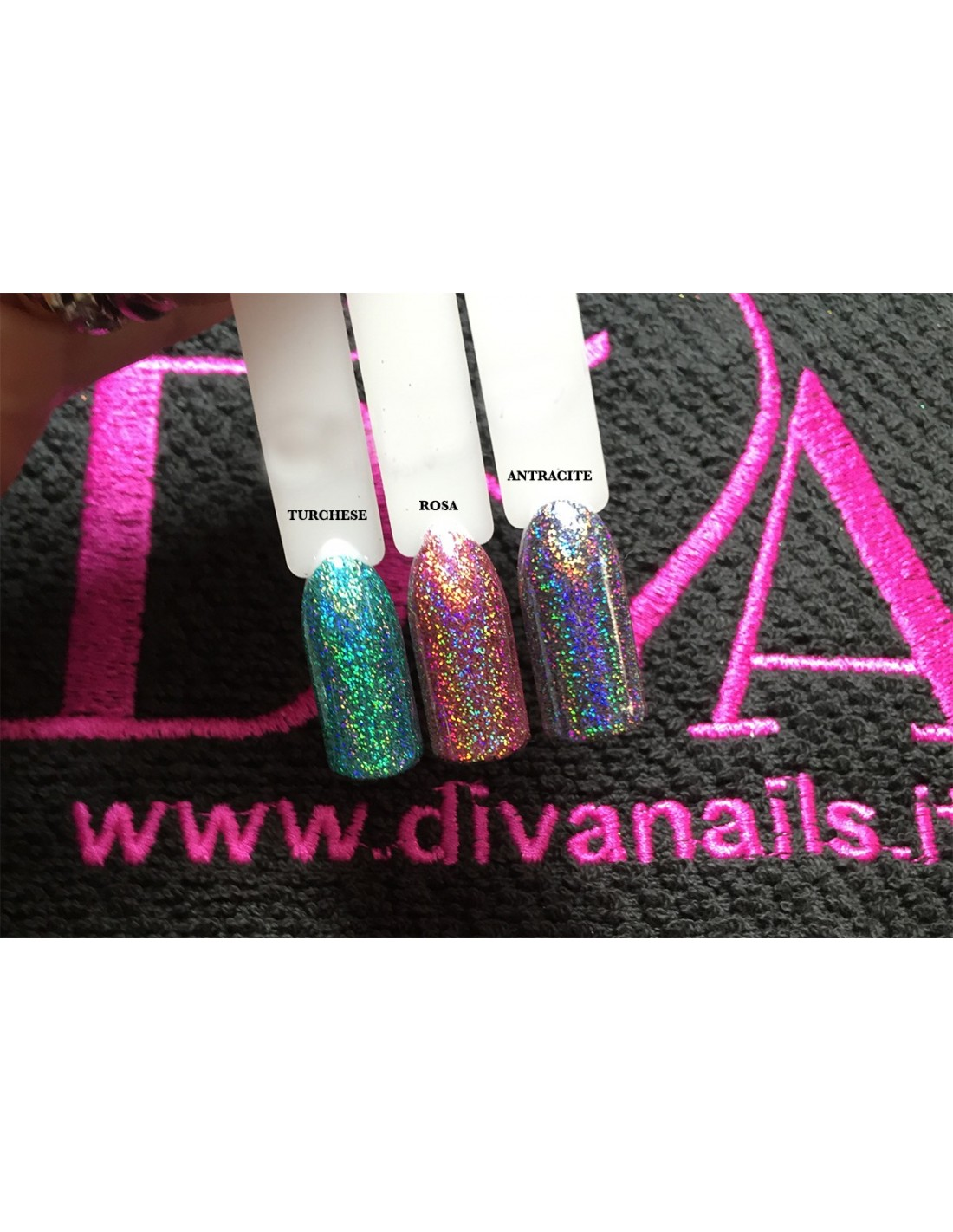 Polvere di ninfa hologram rosa 3g diva nails shop - Diva nails prodotti ...