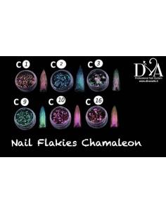 nail flakies chamaleon