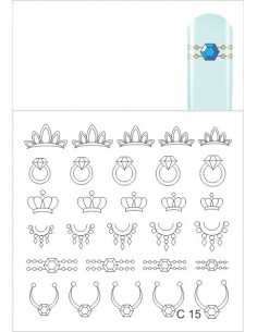 Water Decal Diva C15