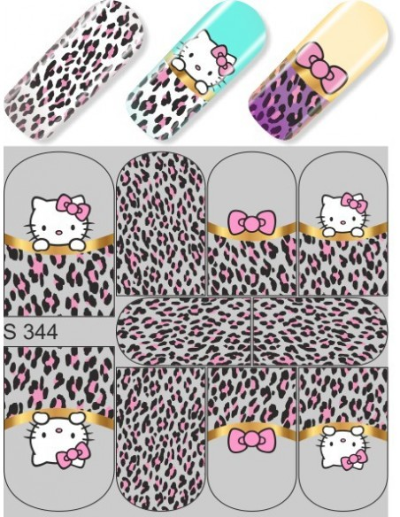 Water Decal Diva S344