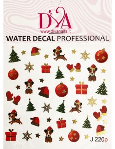 Water Decal Diva J220P