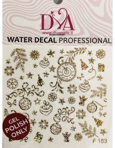 Water Decal Diva F163HOLO