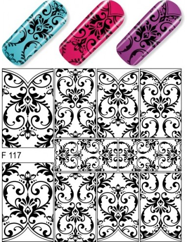 Water Decal Diva F117